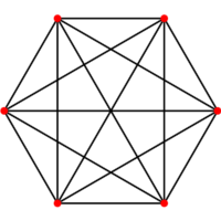 The complete graph K6